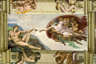 330px-Michelangelo_-_Creation_of_Adam